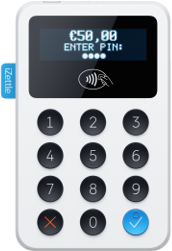 IZettle Bluetooth card reader